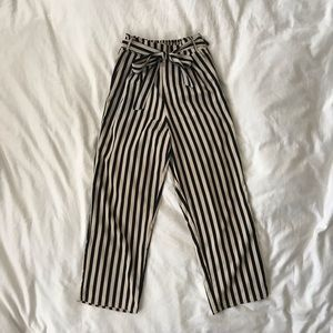 Amuse Society Night Out Striped Pant with Bow
